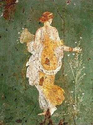 Fanciulla che coglie fiori - Museo Archeologico Nazionale di Napoli